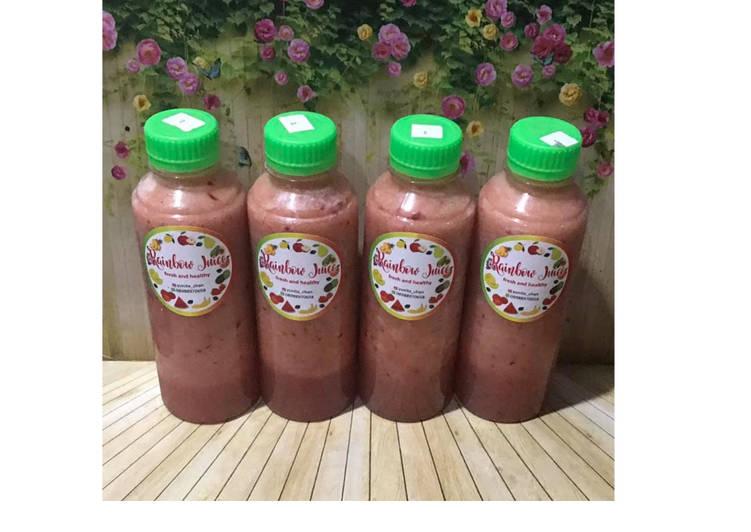 Resep Diet Juice butternut Squash Cranberry Soursop