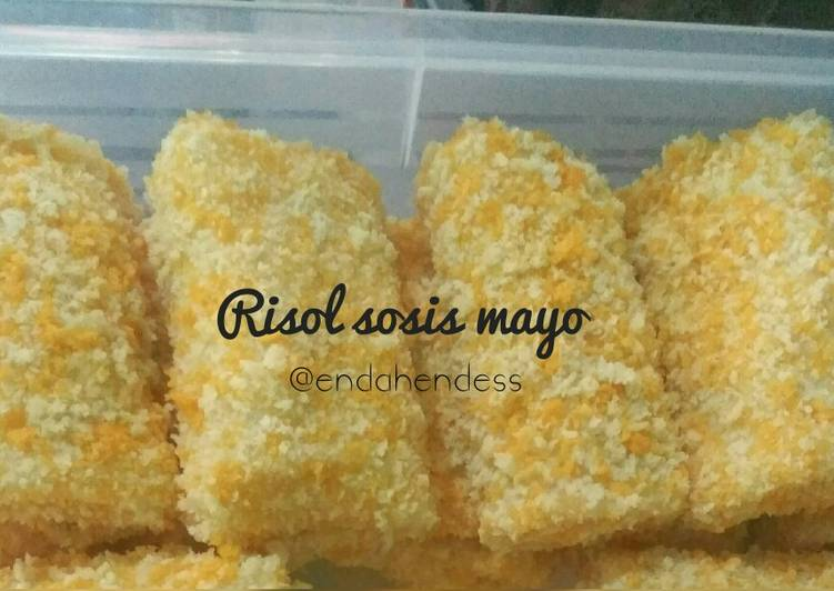 Resep Risol sosis mayo
