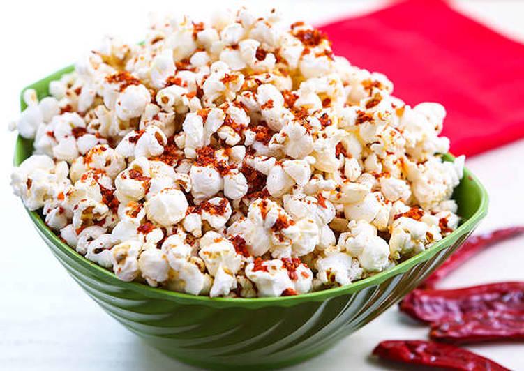Resep Spicy Popcorn