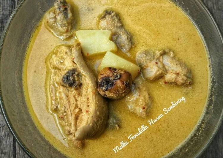 Resep Gule Kuta-Kuta (Gulai Ayam Karo)