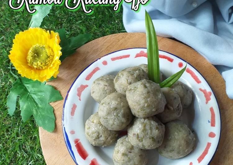 Resep 4.Kumbu kacang ijo(isian pao &pia)
