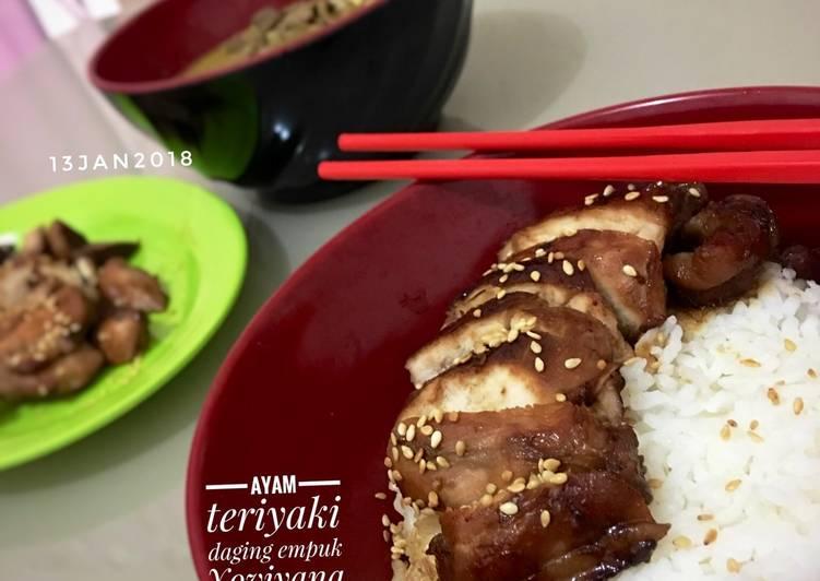 Resep Ayam teriyaki daging empuk simple
