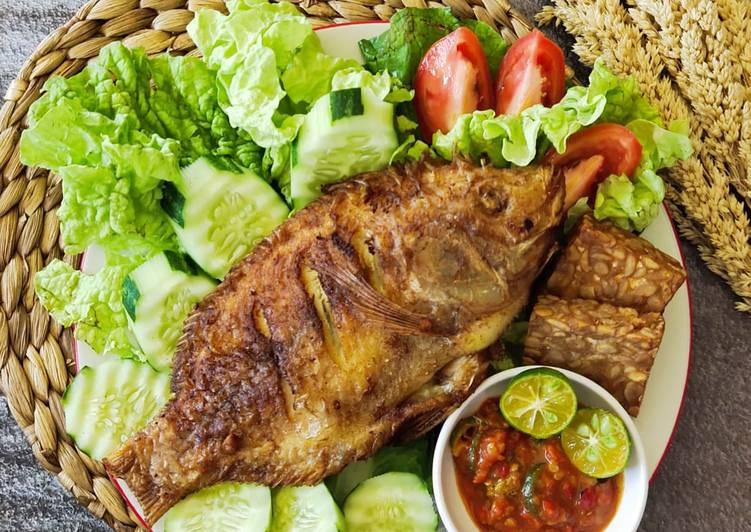 Resep Ikan Nila Goreng Bumbu Kuning