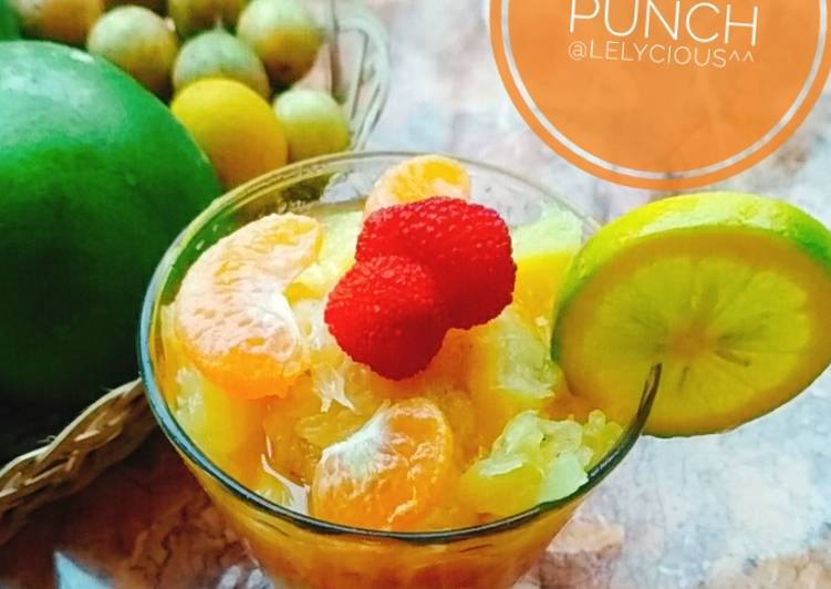 Resep Bencoy Fruit Punch