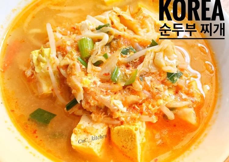 Resep Sundubu Jjigae ~ Sup Tahu Pedas Korea