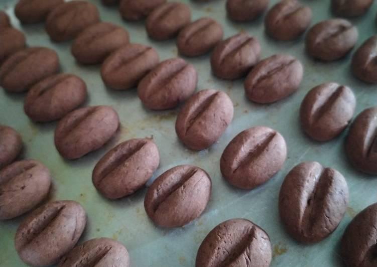 Resep Choffee Bean Cookies Gluten Free