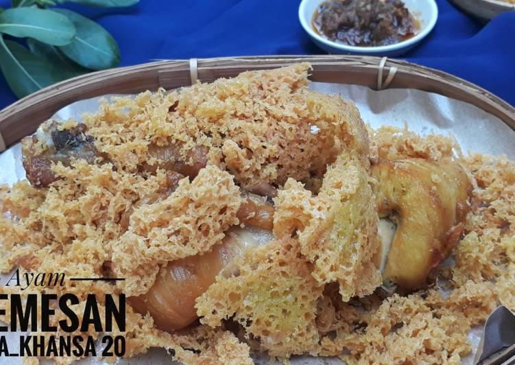 Resep Ayam Kremesan
