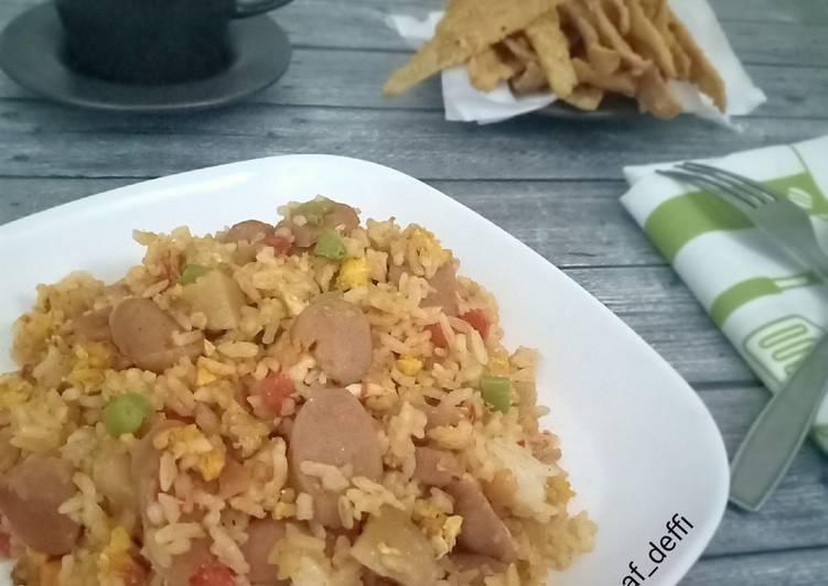 Resep Nasi Goreng Ceria Ngeunah