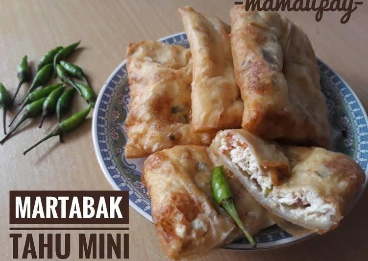 Resep Martabak Tahu Mini