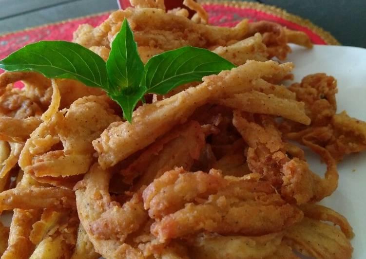 Resep Jamur crispy yummy