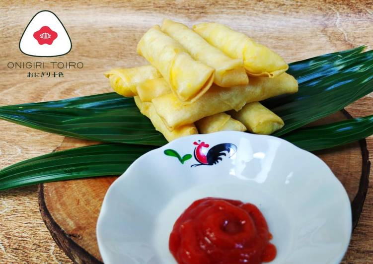 Resep Stik Keju dan Kentang Cheese & Potato Stick