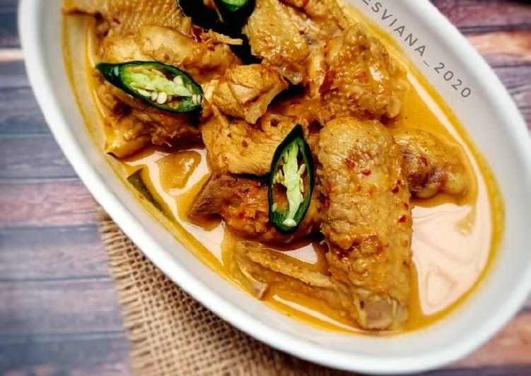 Resep Rendang Ayam Bumbu Instan
