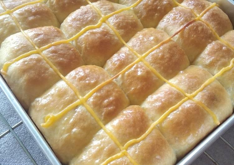 Resep Roti Kasur Kacang Custard