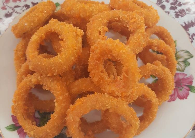 Resep Onion Ring Krispy
