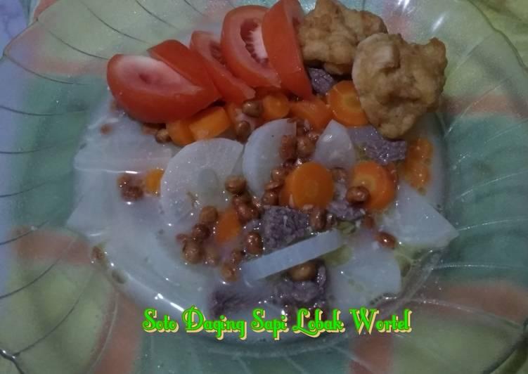 Resep #Soto Daging Sapi Lobak Wortel (bumbu dasar putih)