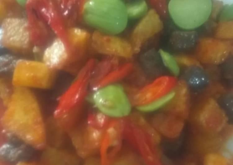 Resep Sambel goreng ati kentang