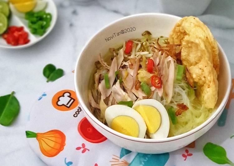 Resep 1Soto Ayam Ambengan Surabaya