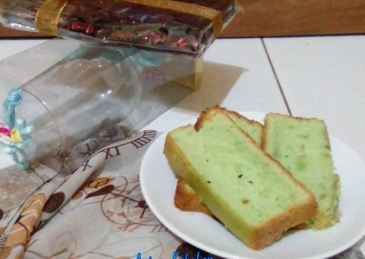 Resep Sponge Cake Pandan 3 Telur