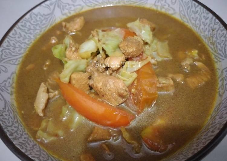 Resep 398.Tongseng Ayam