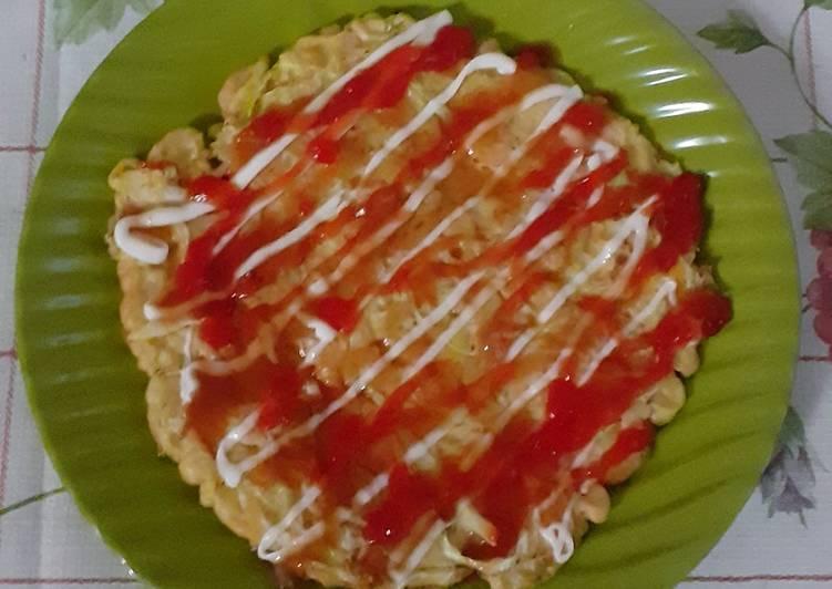 Resep Okonomiyaki ala GalChan