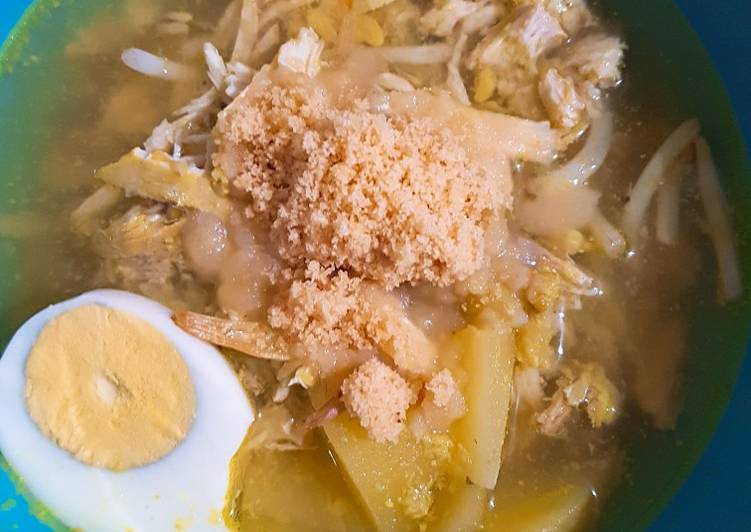 Resep Soto Ayam Koya