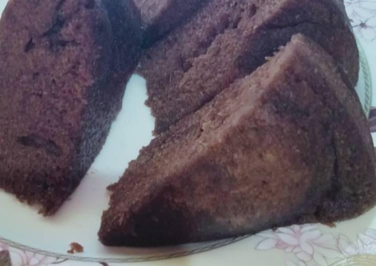 Resep Browniss/bolu kukus chocolatos tanpa mixer