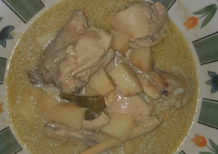 Resep Opor Ayam Simple Enak