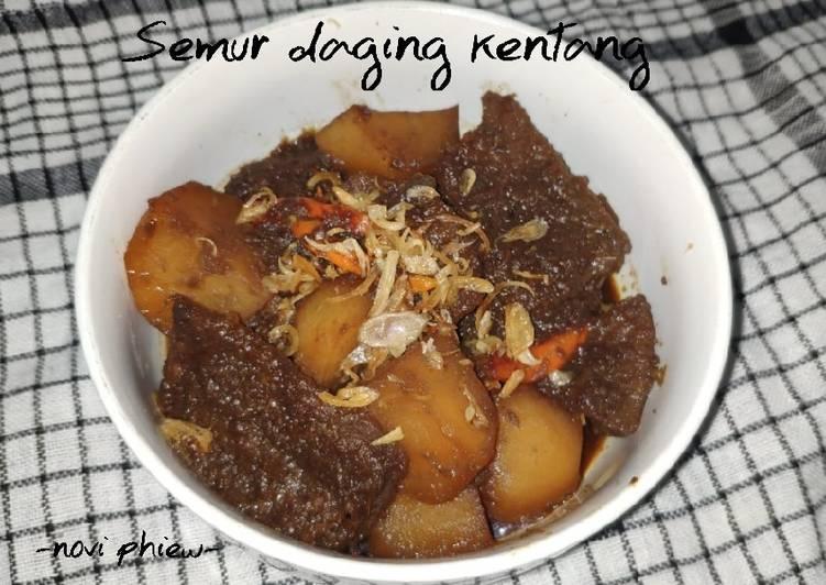 Resep Semur daging kentang