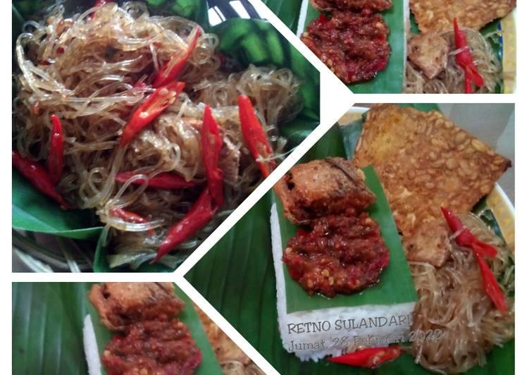 Resep Oseng soun (ala) nasi kucing