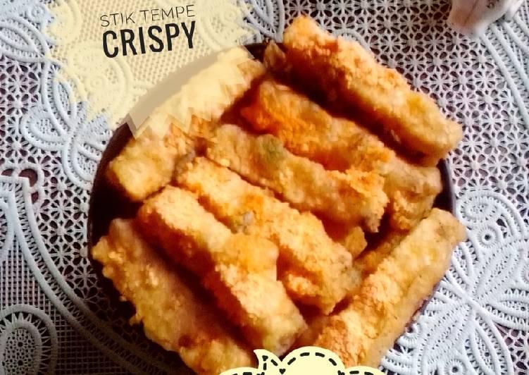 Resep Stik tempe crispy