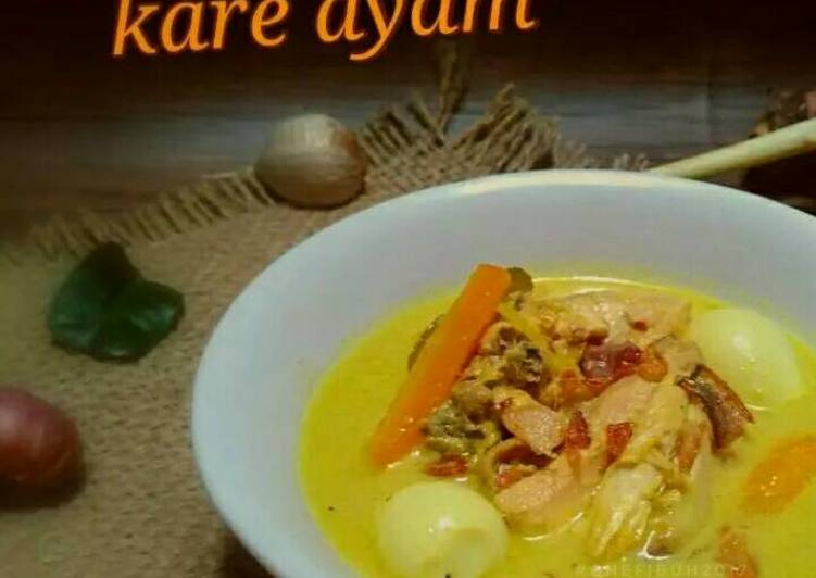 Resep Kare ayam jawa