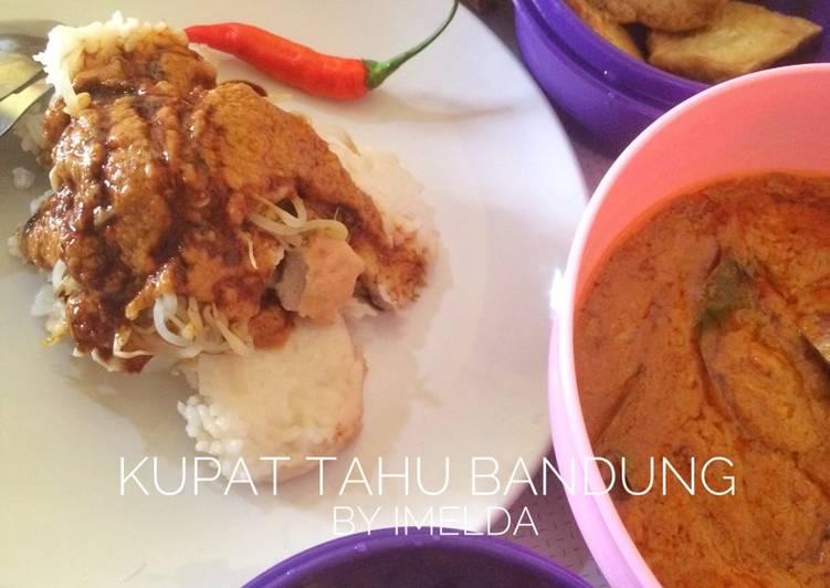 Resep Kupat Tahu Bandung