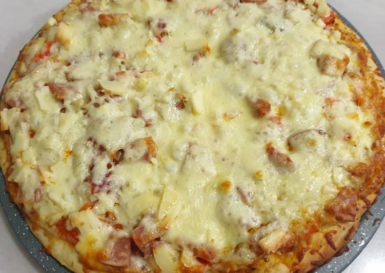 Resep Adonan tepung Pizza