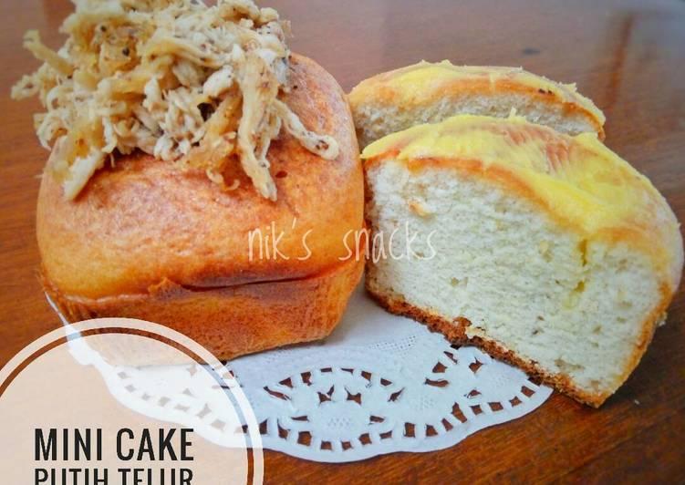 Resep Mini cake putih telur #ketopad