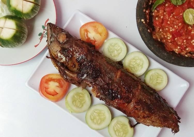 Resep Ikan Cakalang Panggang + Sambal Dadak