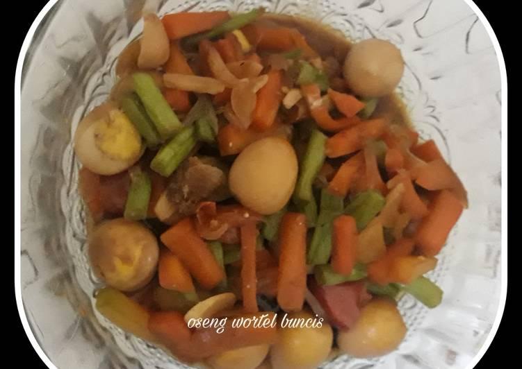 Resep Oseng wortel buncis