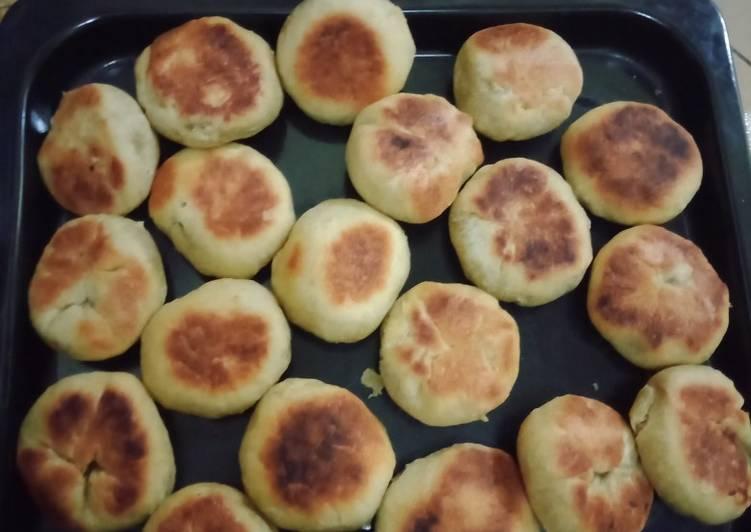 Resep Bakpia kacang ijo teflon