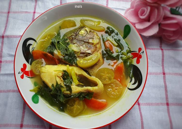Resep Sup Ikan Nila Kemangi