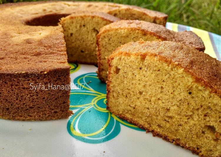 Resep Cake Pisang Lembut