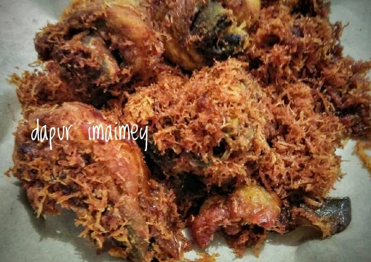 Resep Ayam goreng srundeng