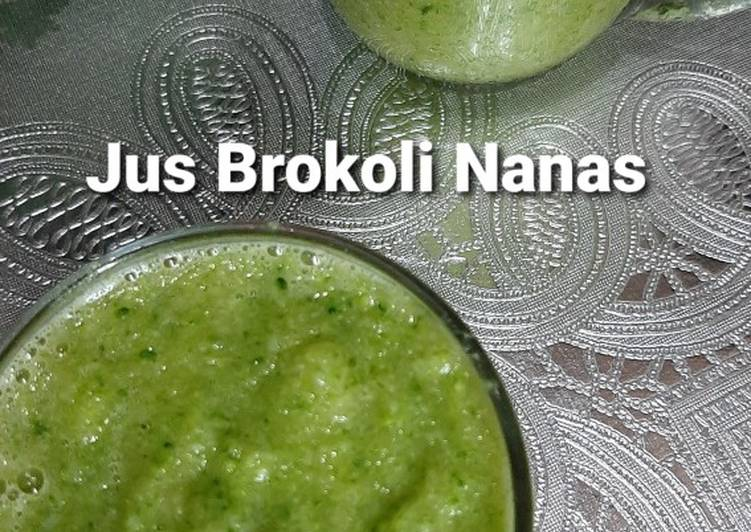 Resep Jus Brokoli Nanas