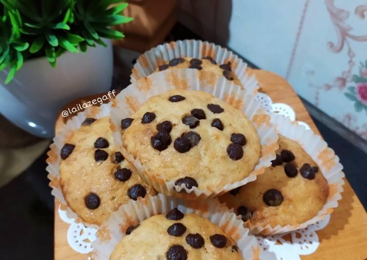 Resep Banana Muffin ChocoChips