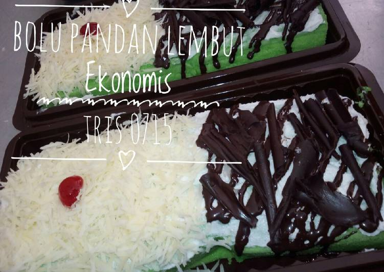 Resep Bolu Pandan Ekonomis