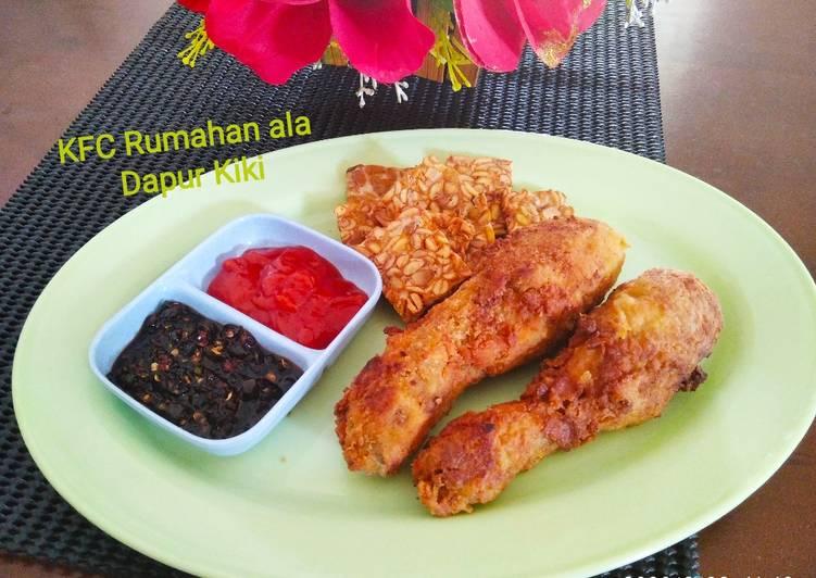 Resep Kriting Fried Chicken (KFC) Rumahan