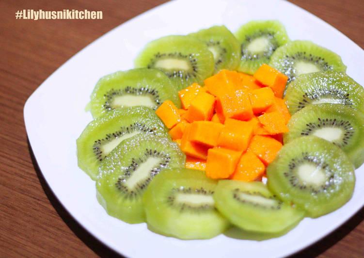 Resep Mangga kiwi