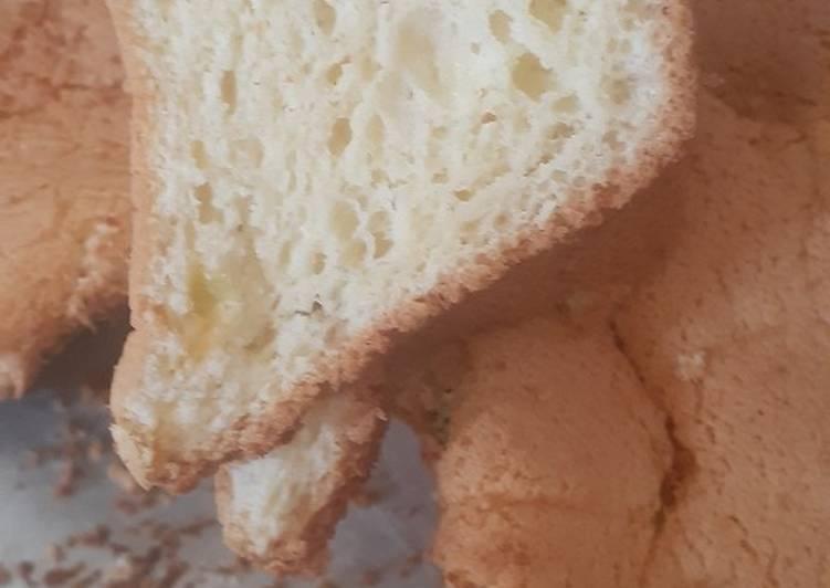 Resep Chiffon susu sukade tanpa (sp, bp,bs/sk)