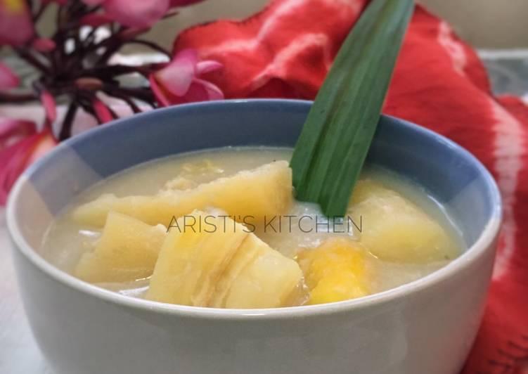 Resep Kolak Singkong Kuah Durian