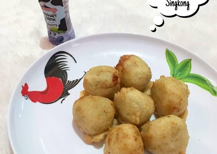 Resep Gumpal Singkong / Gumpal Gumbili / Buah Jingah