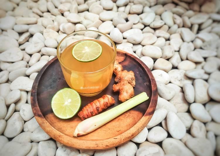 Resep Minuman Rempah (untuk badan meriang)
