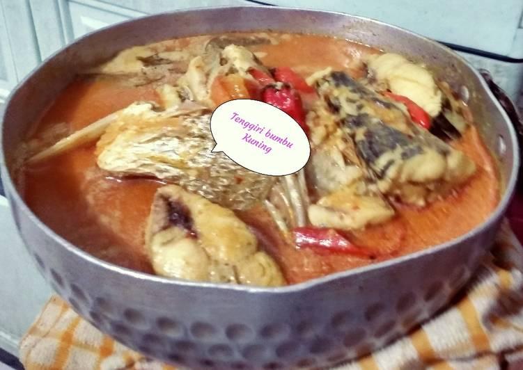 Resep Tenggiri masak bumbu kuning (34)